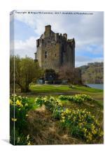 Spring at Eilean Donan Castle, Canvas Print