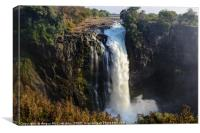 Devil's Cataract - Victoria Falls, Zimbabwe, Canvas Print