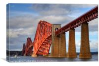 The Forth Railway Bridge, Scotland, Canvas Print