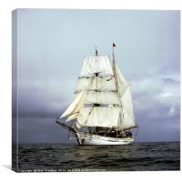 Tall Ship at Sea, Canvas Print