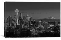 Seattle Skyline, Canvas Print