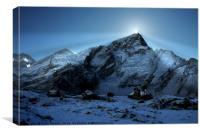 Everest Sunrise, Canvas Print