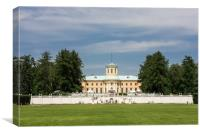The Museum-estate  Arkhangelskoe., Canvas Print
