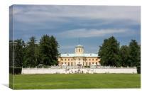 The Museum-estate  Arkhangelskoe., Canvas Print