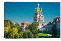 The monastery., Canvas Print
