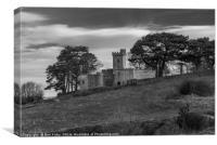 Rodborough Fort, Canvas Print