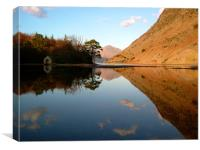 The Boat House, Wast water, Canvas Print