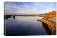 Embsay Reservoir, Yorkshire Dales, Canvas Print