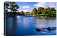 River Wharfe, Bolton Abbey, Canvas Print