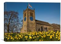 St. Peter's Church, Addingham, Canvas Print