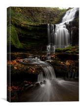Scalber Force, Yorkshire Dales, Canvas Print
