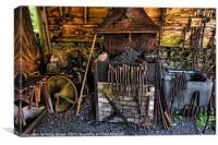 ANY OLD IRON, Canvas Print