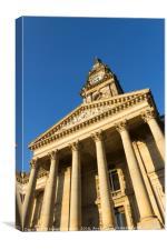 Bolton town hall, Canvas Print