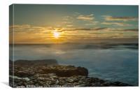 Sunset in Doolin, Canvas Print