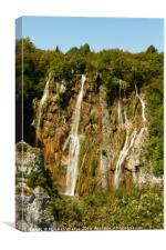 Waterfalls at Plitvice National Park, Canvas Print