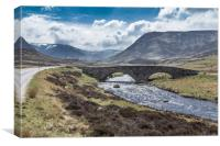 Scottish Highlands, Canvas Print