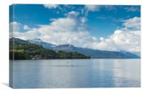Bonny Banks of Loch Lomond , Canvas Print