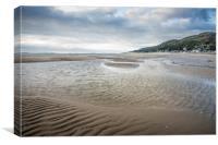 Barmouth Beach, Canvas Print