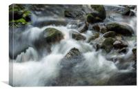 Soft Water, Canvas Print