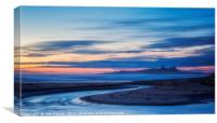 Embleton Bay Northumberland., Canvas Print