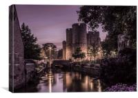 Westgate Towers, (canterbury, Kent), Canvas Print