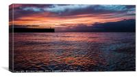 Romantic Sunset 2, Canvas Print