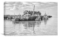 Water at Whitstable, Canvas Print