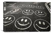 Be Happy, Canvas Print