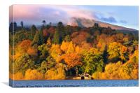 Autumn in the Lakes, Canvas Print