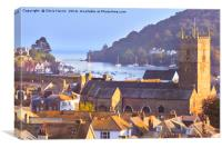 Dartmouth, on the English Riviera, Canvas Print
