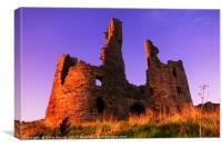 Dunstanburgh Castle II, Canvas Print