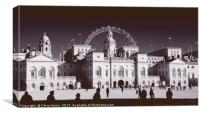 Horse Guards Parade, Canvas Print
