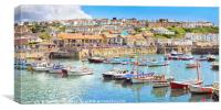 Porthleven summer, Canvas Print