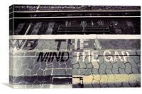 Mind The Gap, Canvas Print
