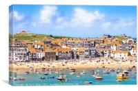 St Ives Bay, Canvas Print