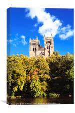 Simply Durham, Canvas Print