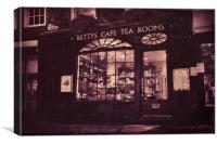 Bettys Stonegate, York, Canvas Print