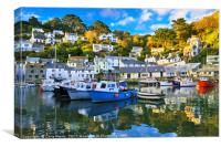 Peaceful Polperro, Canvas Print
