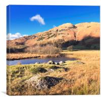 Autumn in Little Langdale, Canvas Print