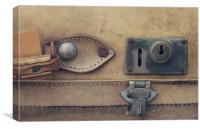 Suitcase, Canvas Print