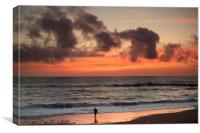 The Last Surfer, Canvas Print