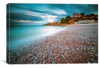 Breakwater Beach , Canvas Print