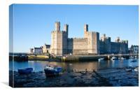 Caernarvon Castle, Canvas Print