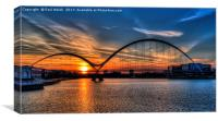 Infinity Bridge Sunset , Canvas Print