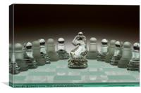 Chess Pieces, Canvas Print