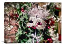 Masquerade mask, Canvas Print