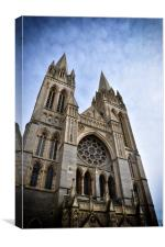 Truro Cathedral , Canvas Print