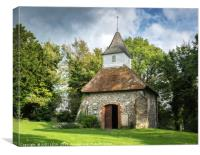The church of the Good Shepherd, Canvas Print