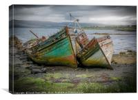Shipwrecks of Mull, Canvas Print