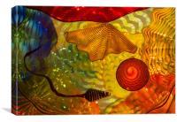 Inspirational illustration of the origins of life, Canvas Print